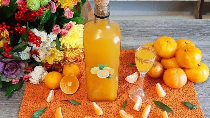 Приготовление мандаринового ликера в домашних условиях