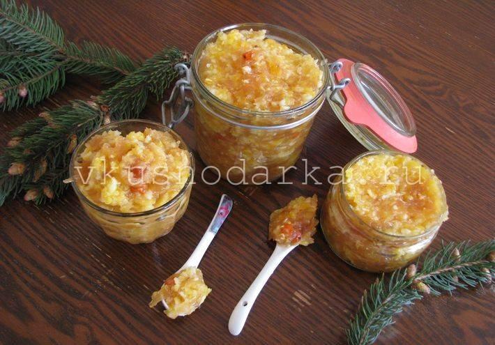 4 рецепта варенья и джемов из яблок с лимоном и имбирем