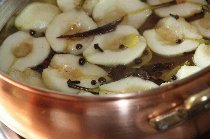 Груши моченые на зиму рецепт