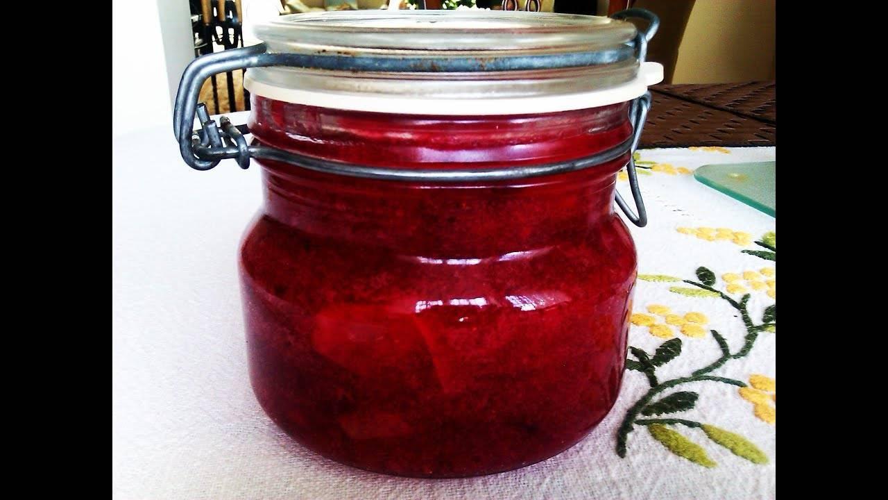 Простой рецепт варенья из брусники с яблоками на зиму