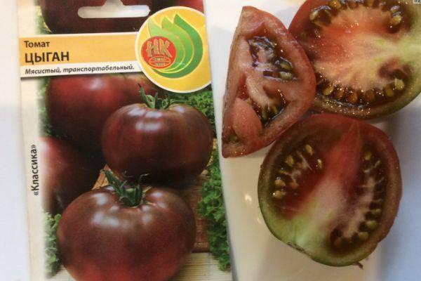Томат со «смуглыми» плодами под названием цыган: описание сорта, секреты выращивания, отзывы