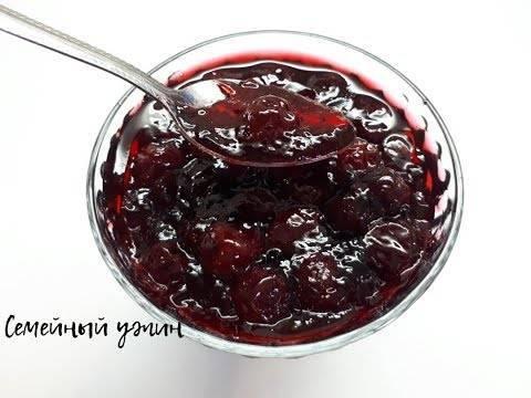 Как сварить варенье из вишни с желатином
