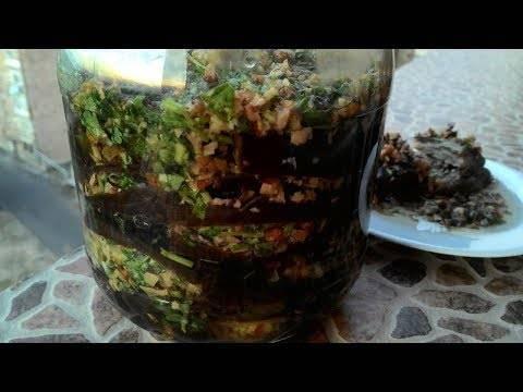 Салат из баклажанов на зиму: 36 домашних рецептов