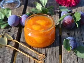 Пошаговый рецепт янтарного варенья из слив целыми дольками на зиму