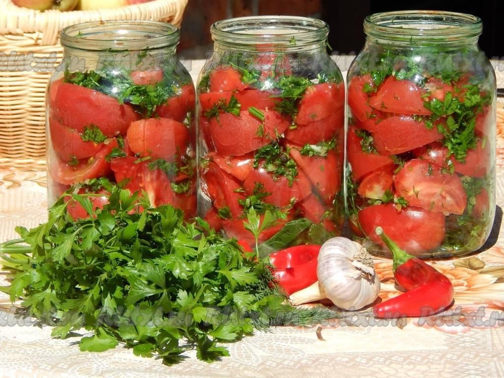 9 лучших рецептов приготовления помидоров дольками на зиму