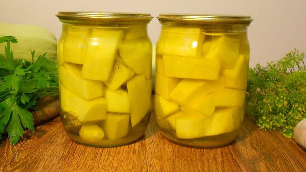 2 пошаговых рецепта приготовления кабачков с куркумой на зиму