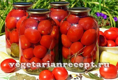 Рецепты маринования помидоров с яблочным уксусом на зиму