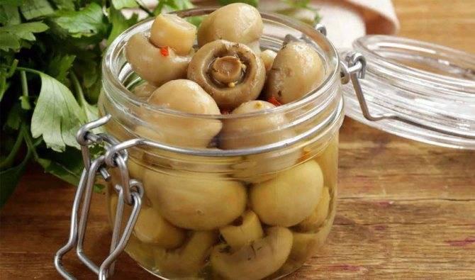 Сколько и где можно хранить маринованные грибы домашнего приготовления