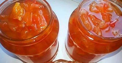 Рецепт приготовления сухого варенья из яблок в духовке в домашних условиях