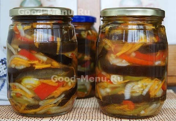 Салат из баклажанов на зиму — 10 самых вкусных рецептов пальчики оближешь