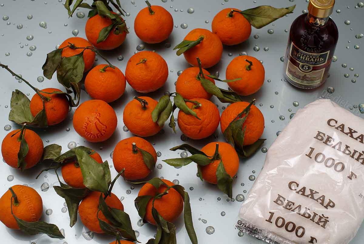 Мандариновый джем и мандариновое варенье