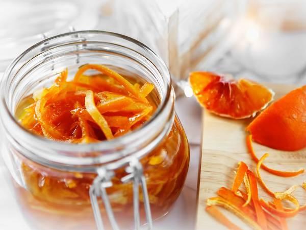 Рецепт цукатов из апельсиновых корок