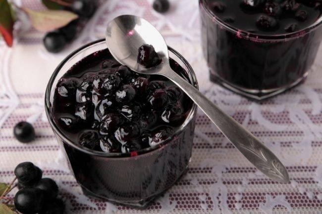 Заготовки на зиму из черноплодной рябины – хорошие рецепты