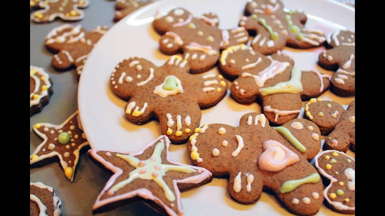 Новогоднее печенье с изумительной глазурью