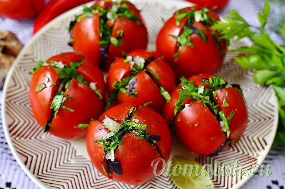Быстрые и вкусные рецепты приготовления маринованных помидоров по-грузински на зиму. самые вкусные зеленые помидоры по-грузински