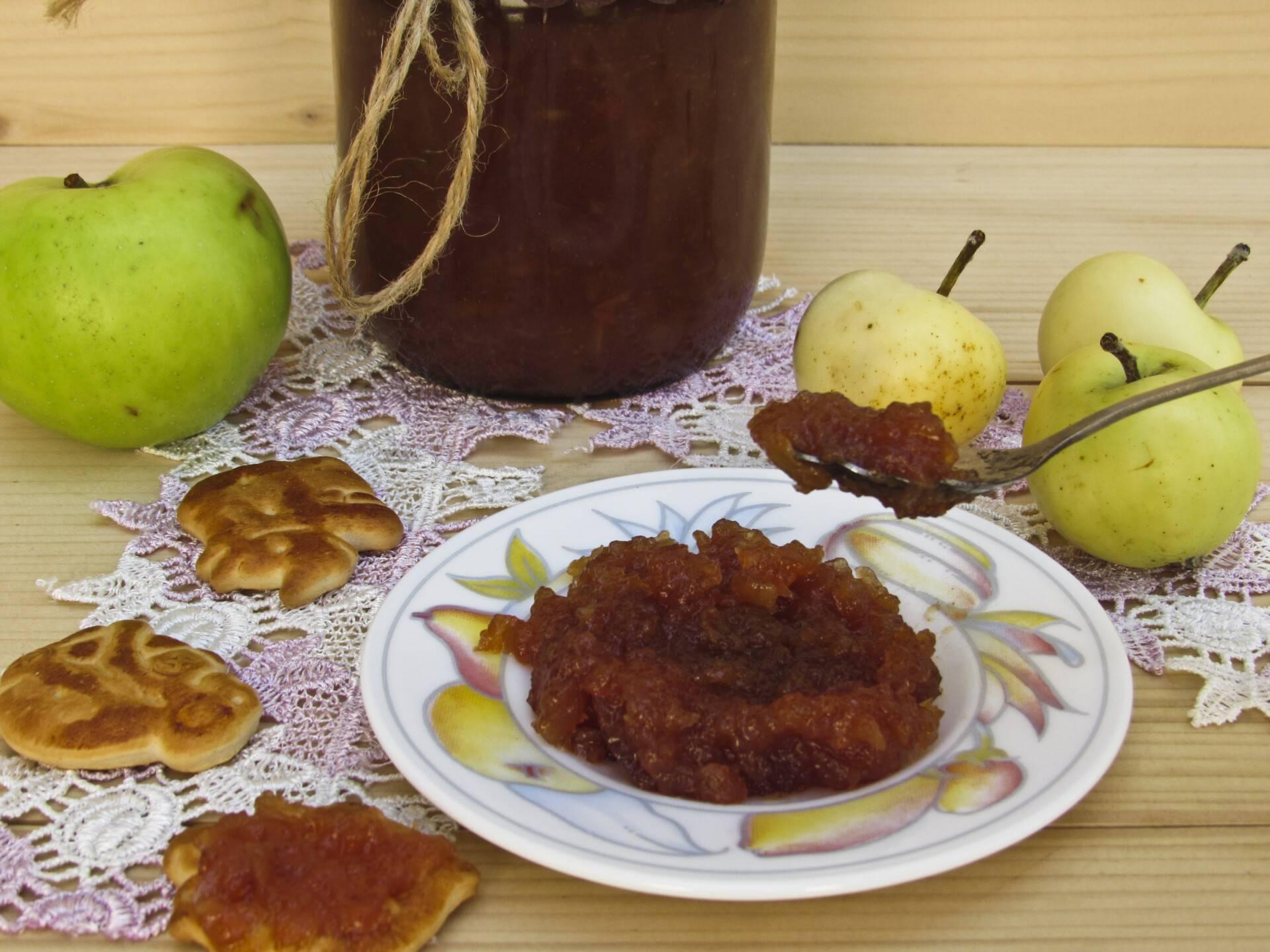 7 рецептов янтарного повидла из яблок