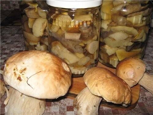 Маринование подберезовиков и подосиновиков. ингредиенты: