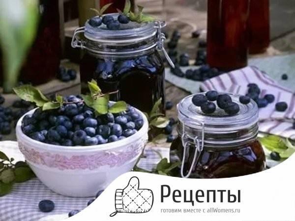 Простые рецепты приготовления джема из черники на зиму