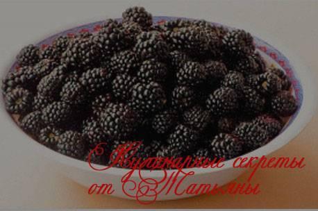Варенье из ежевики на зиму - 5 простых рецептов с фото пошагово