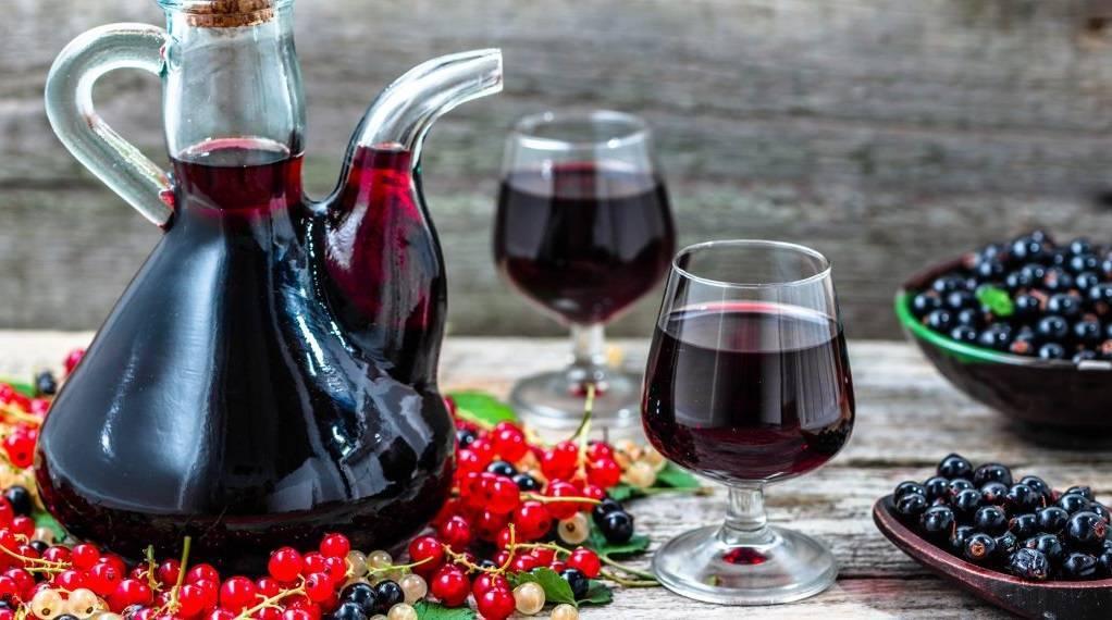 Рецепты вина из смородины