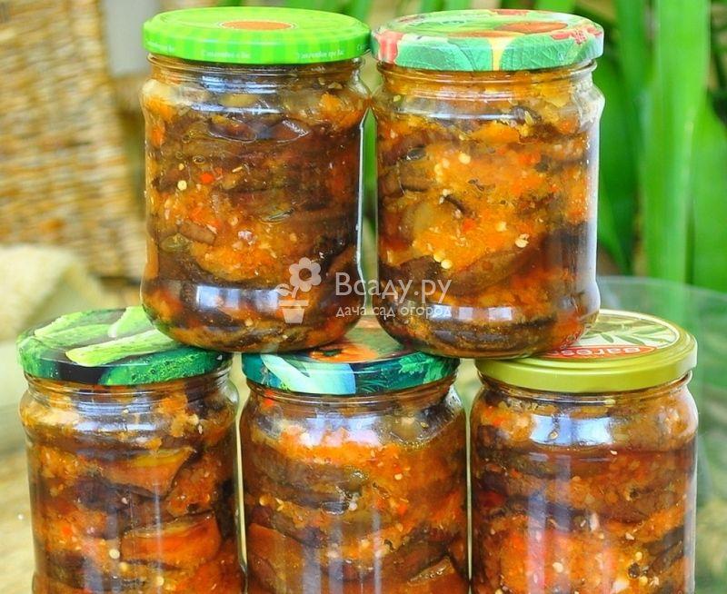 Баклажаны с помидорами и чесноком, жареные на сковороде — 8 рецептов с пошаговыми фото