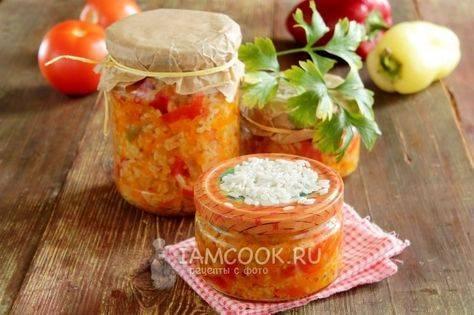Рецепты приготовления лечо с рисом на зиму