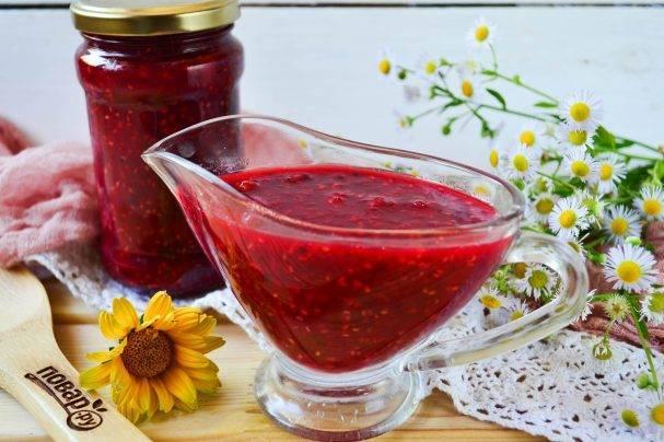 Вкусный рецепт приготовления варенья из крыжовника и малины на зиму