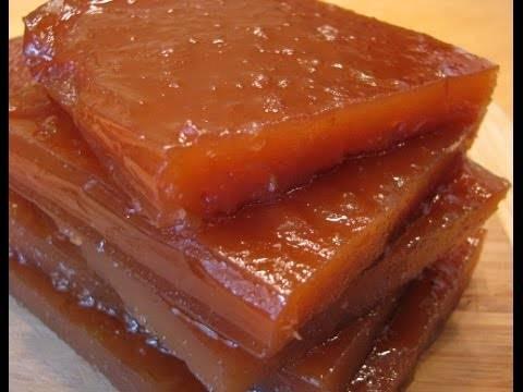 Яблочный мармелад — рецепт домашнего мармелада из яблок