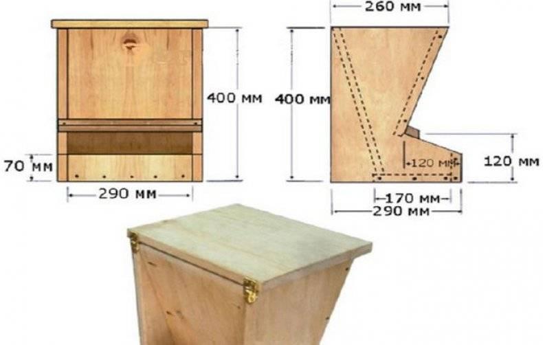 Кормушки для кур — как сделать своими руками простую и автоматическую кормушку (120 фото + видео)