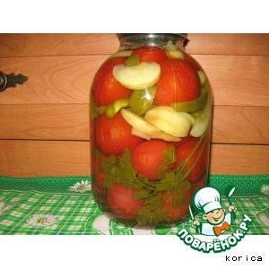 Помидоры с яблоками на зиму: рецепты с фото пальчики оближешь