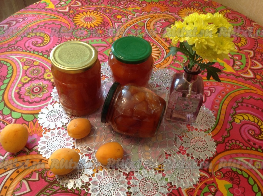 Топ 3 пошаговых рецепта абрикосового джема с желатином на зиму