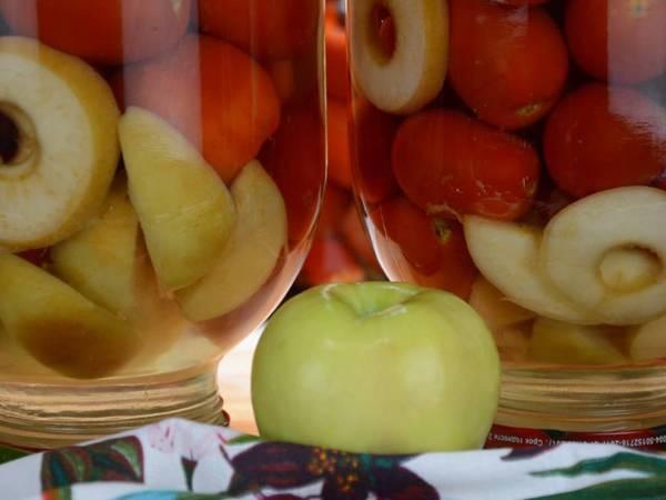 Аджика помидоры, перец, яблоки