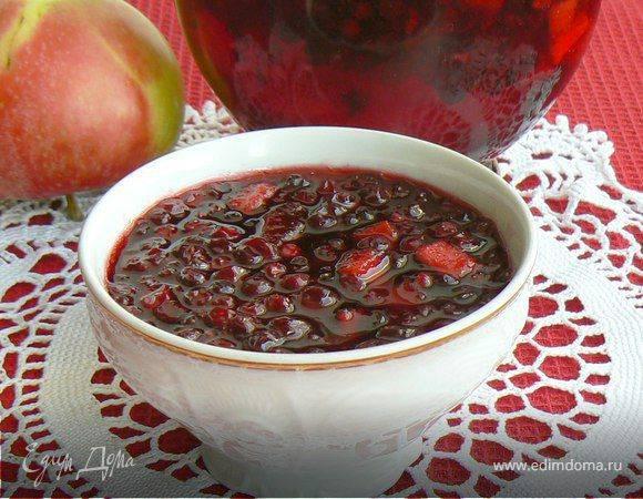 Варенье из брусники с яблоками: простой рецепт на зиму с фото и видео