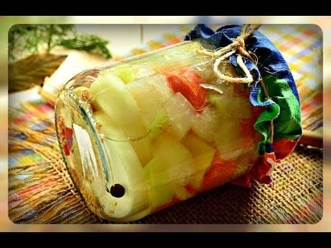 Заготовки из капусты кольраби на зиму рецепты