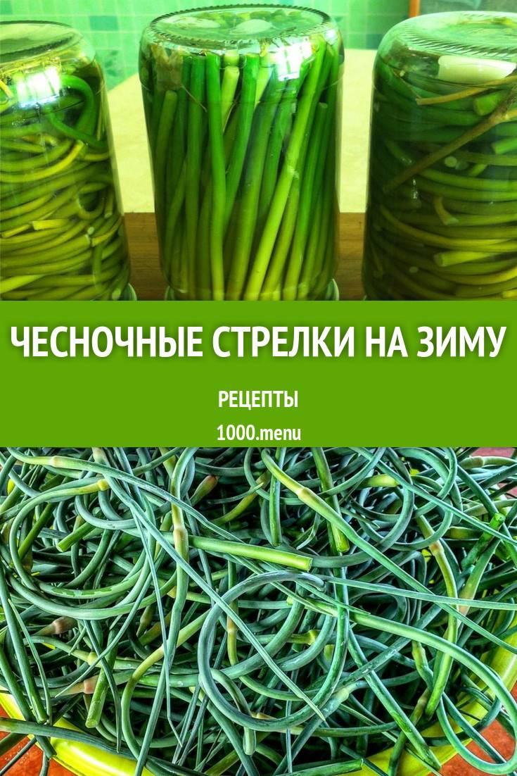 Как приготовить луковые стрелки: что приготовить из стрелок лука
