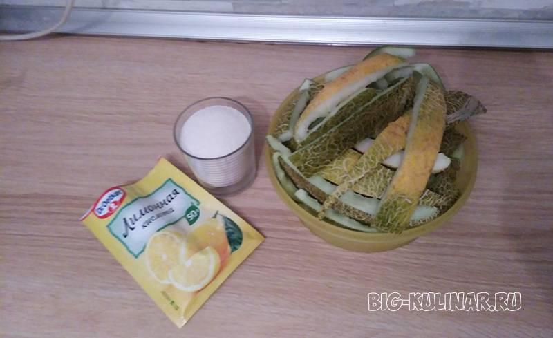 Простые и быстрые рецепты приготовления цукатов из арбузных корок в домашних условиях