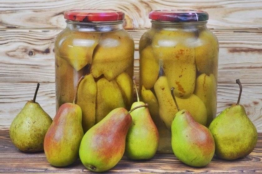 Заготовки из груш на зиму. самые популярные рецепты