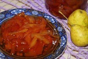 Янтарное варенье из груш дольками на зиму — как варить густое грушевое варенье