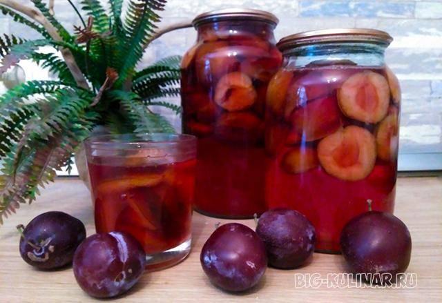 Компот из яблок на зиму — простой рецепт вкусного яблочного компота