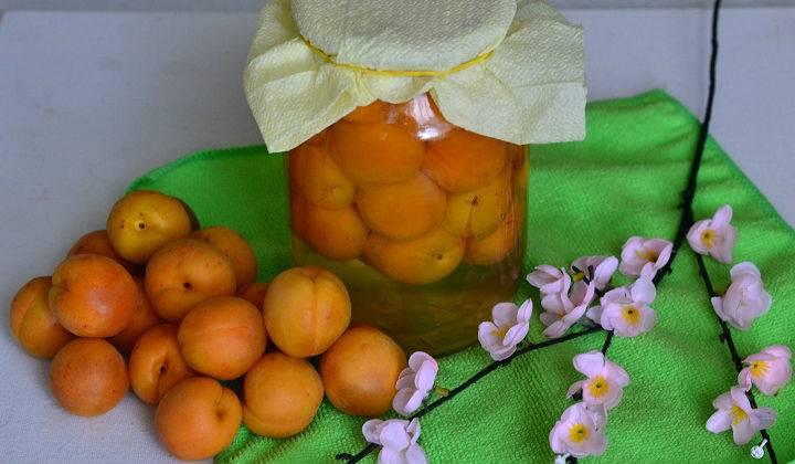 Компот из абрикосов рецепт приготовления