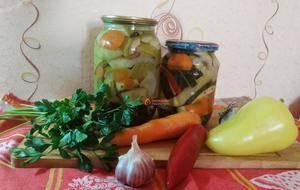 6 вкусных рецептов маринованных полосками кабачков на зиму