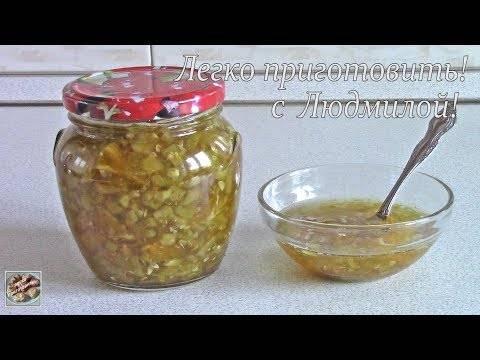 Варенье из огурцов с медом. рецепт приготовления варенья из огурцов с лимоном, апельсином и медом