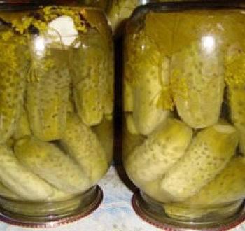 Пошаговый рецепт маринованных огурцов на зиму Ностальгия