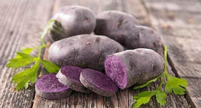 Полезные свойства фиолетового картофеля с антиаксидантной добавкой — здоровый универсальный углевод