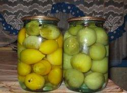 Маринованные зеленые помидоры с чесноком быстрого приготовления