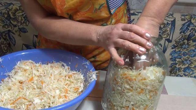 Квашеная капуста без соли: рецепт