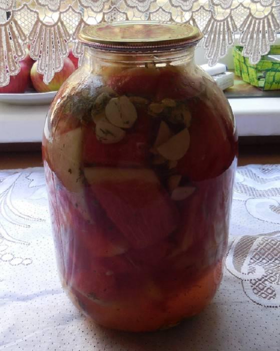 Самые вкусные рецепты арбузов на зиму в банках с лимонной кислотой