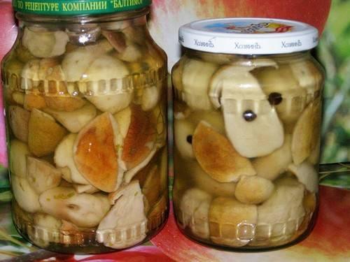 Маринование белых грибов: инструкции, рецепты и советы
