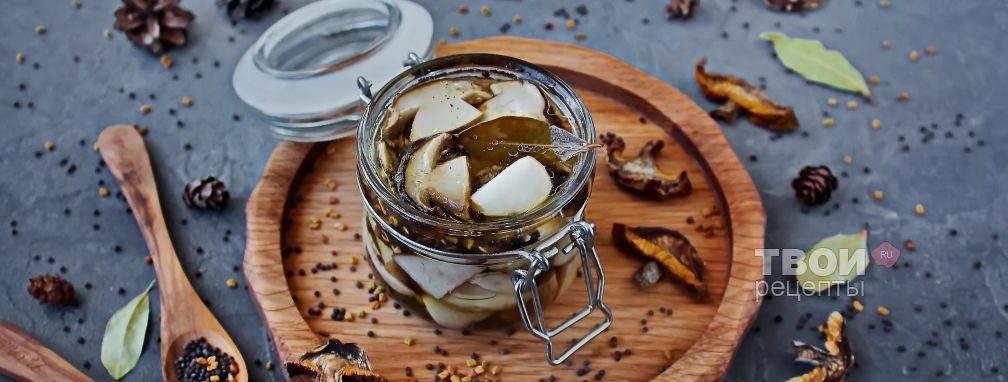 Простые рецепты приготовления белых грибов на зиму