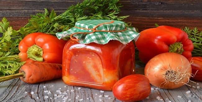 Топ-7 самых простых и вкусных рецептов маринованных огурцов в томатном соусе на зиму